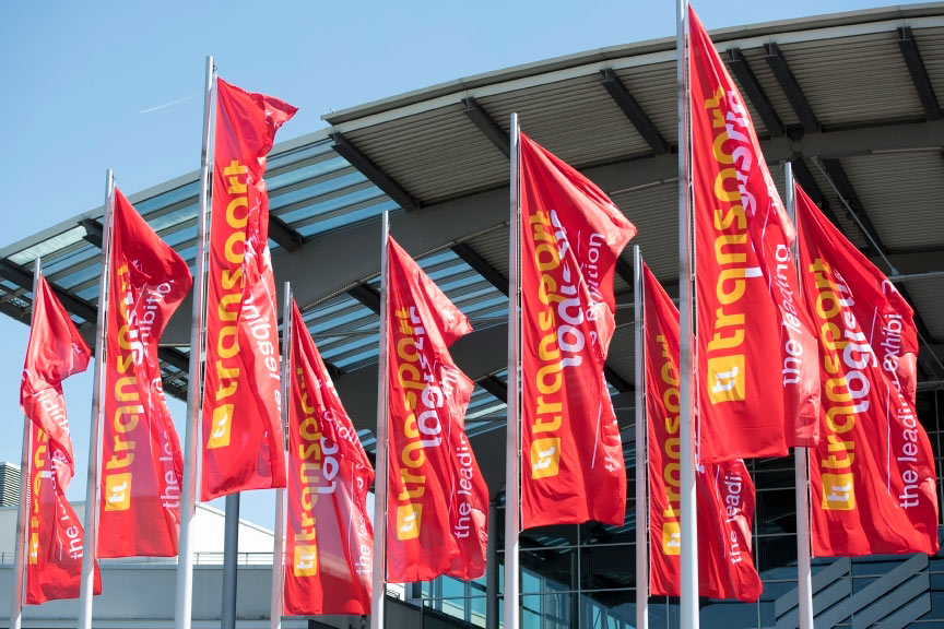 Rail-Flow at transport logistic in Munchen